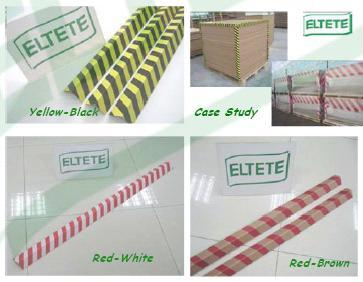 Attention Stripe Printing Multi Color Edgeboards