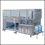 Jar Rinsing, Filling And Capping Machines