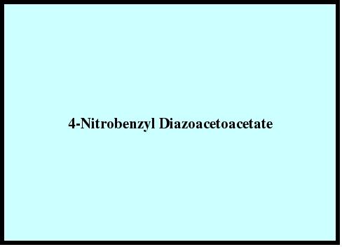4-Nitrobenzyl Diazoacetoacetate