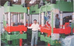 Hydraulic 350 T Solid Type Curing Press