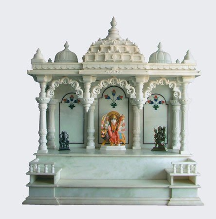 Makrana marble temples in makrana rajasthan india aziz for Home mandir designs marble