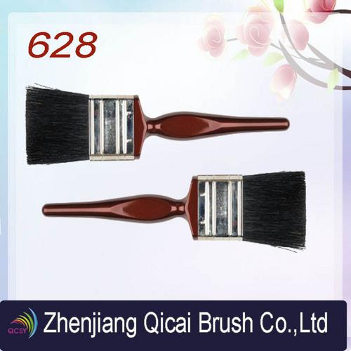 Red Plastic Handle Paint Brush