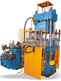 Shuttle Type Vacuum Type Rubber Moulding Machine
