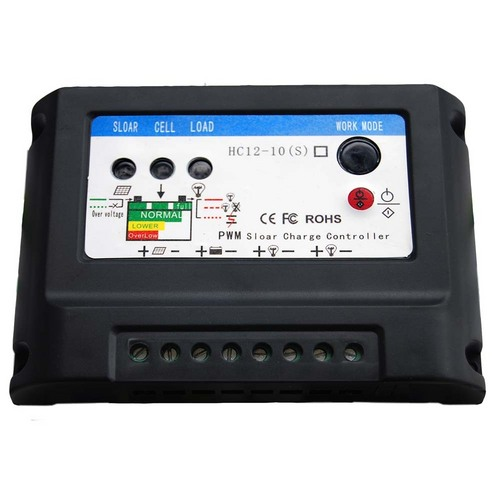 Solar Charge Controller for Solar Street Lights (Dual Output) 10A
