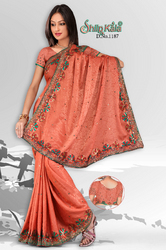 Jacquard Based Saree