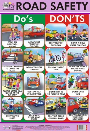 road safety essay for kids