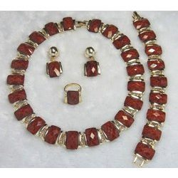 Stone Imitation Jewellery Set