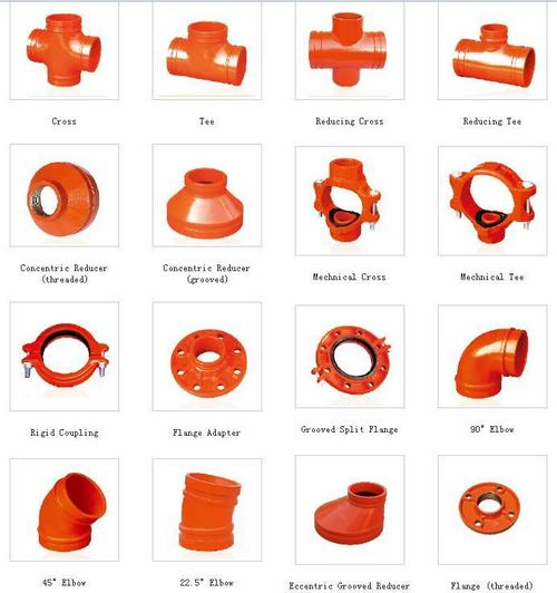 Cast iron pipe fittings in weifang shandong china