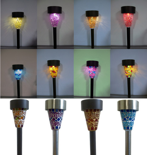 lighting ningbo everwin corp mosaic solar garden lights send sms