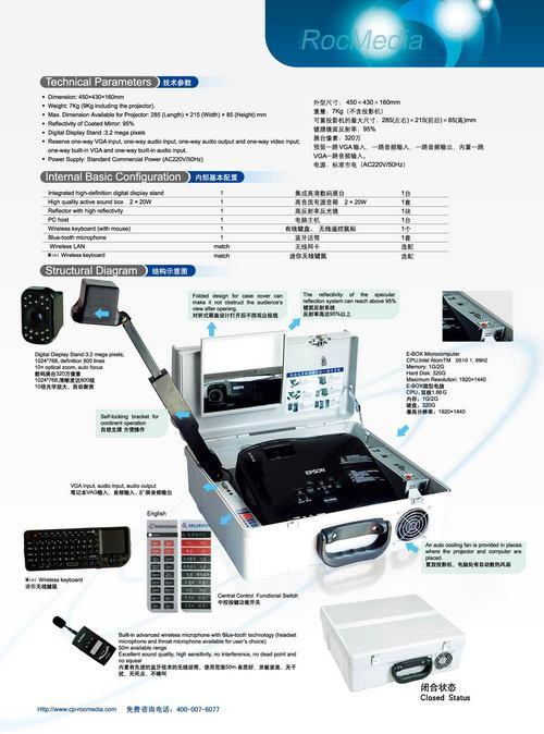 Rocmedia Portable Multimedia Demonstrator