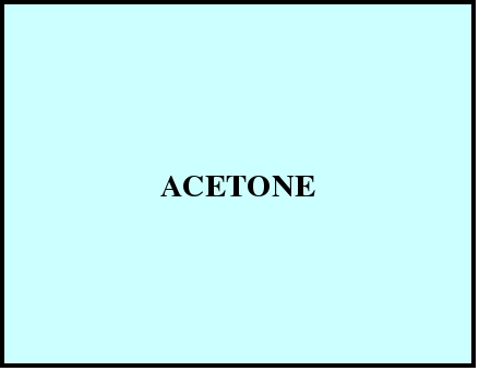 ACETONE