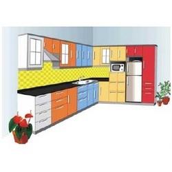 Modern L Shape Modular Kitchens In Midc Ambad Nashik
