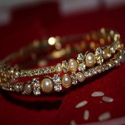 Pearl Plated Bangle