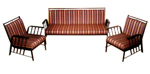 Modern Wrought Iron Sofa Set