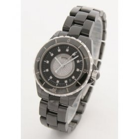 Chanel J12 Diamond Black Ceramic Automatic Sports and H1757 Men Watch