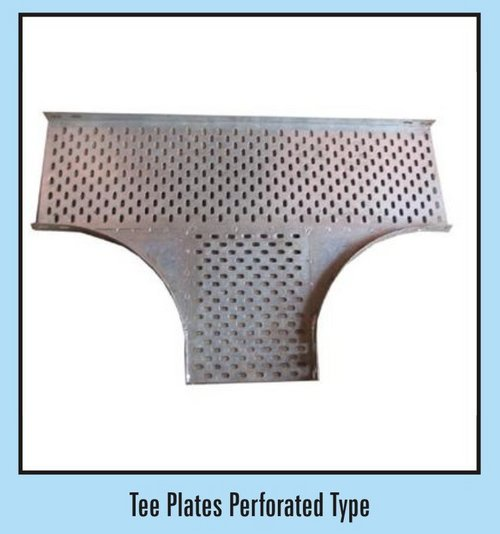 Tee Plates Perforated Type Cable Tray