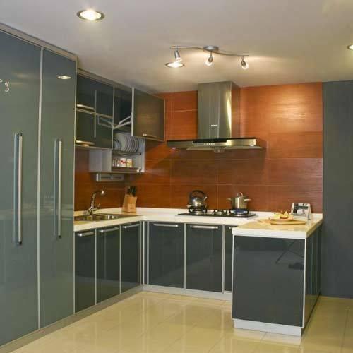 U Shaped Modular Kitchen In Faridabad Haryana India Kaushik Enterprises