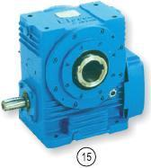 Industrial Hollow Output Shaft