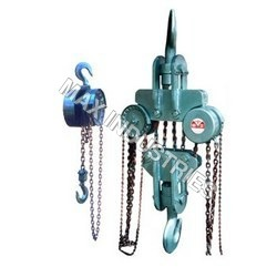 Manual Chain Hoists - Chain Pulley Block