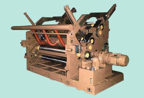 Fingerless Single Facer Corrugating Machine (Twin Facer Design)