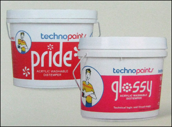 Pride Acrylic Washable Distemper