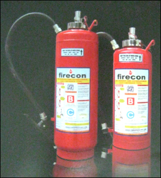 Dry Powder Fire Extinguisher Gas Cartridge