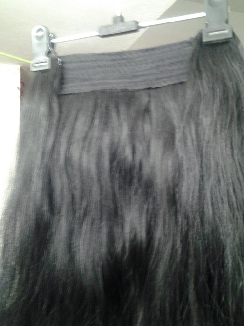 Machine Weft With Clip