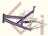 Bicycle Frame Suspension Type