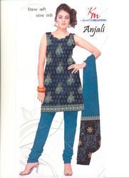 Unstitched Ladies Embroidery Suits