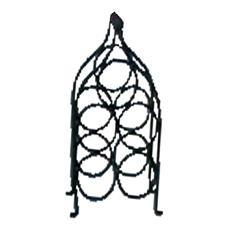 Iron Made Seven Bottles Wine Rack