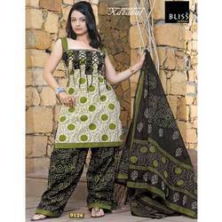 Cotton Ladies salwar suit
