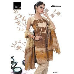 Fancy Cotton Printed ladies salwar suit