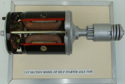 Axle Type Self Starter Model