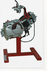 Cut Section Model Of Four Stroke Single Cylinder Engine Assembly