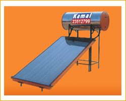 Deluxe Solar Water Heating System