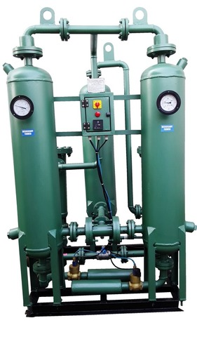 Heatless Compressed Air Type Dryers