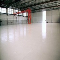 Coloured Epoxy Screed Flooring