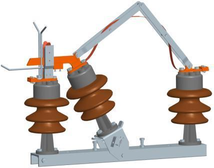 11 Kv, 400 Amp. Tilting Type Goab Switch