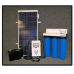 Villager S8-3 Solar / Battery Powered Water Purification System