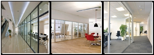 Acoustic Glass Partitions And Door
