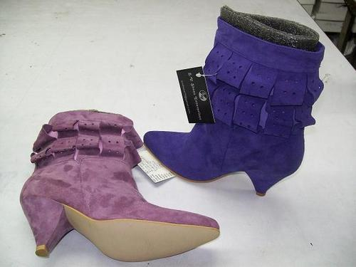 Color Leather Ladies Boot