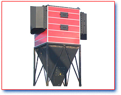 Multi cone dust collector