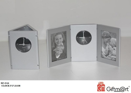 Photoframe With Clock (Dc-016)