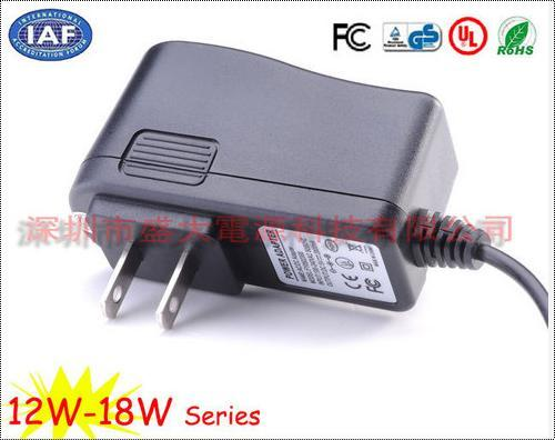 1500 MA US Plug Power Adapter