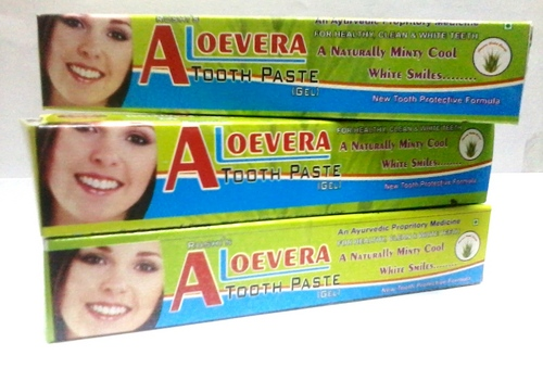 Aloe Vera Tooth Paste (Gel)