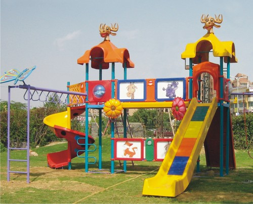 Children Park Play Ground Slides