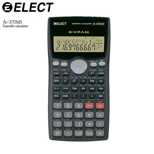 Function Calculator Fx-570ms