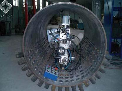 Steam Drum Nozzle Welding Machine