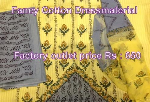 Block Printed Fancy Cotton