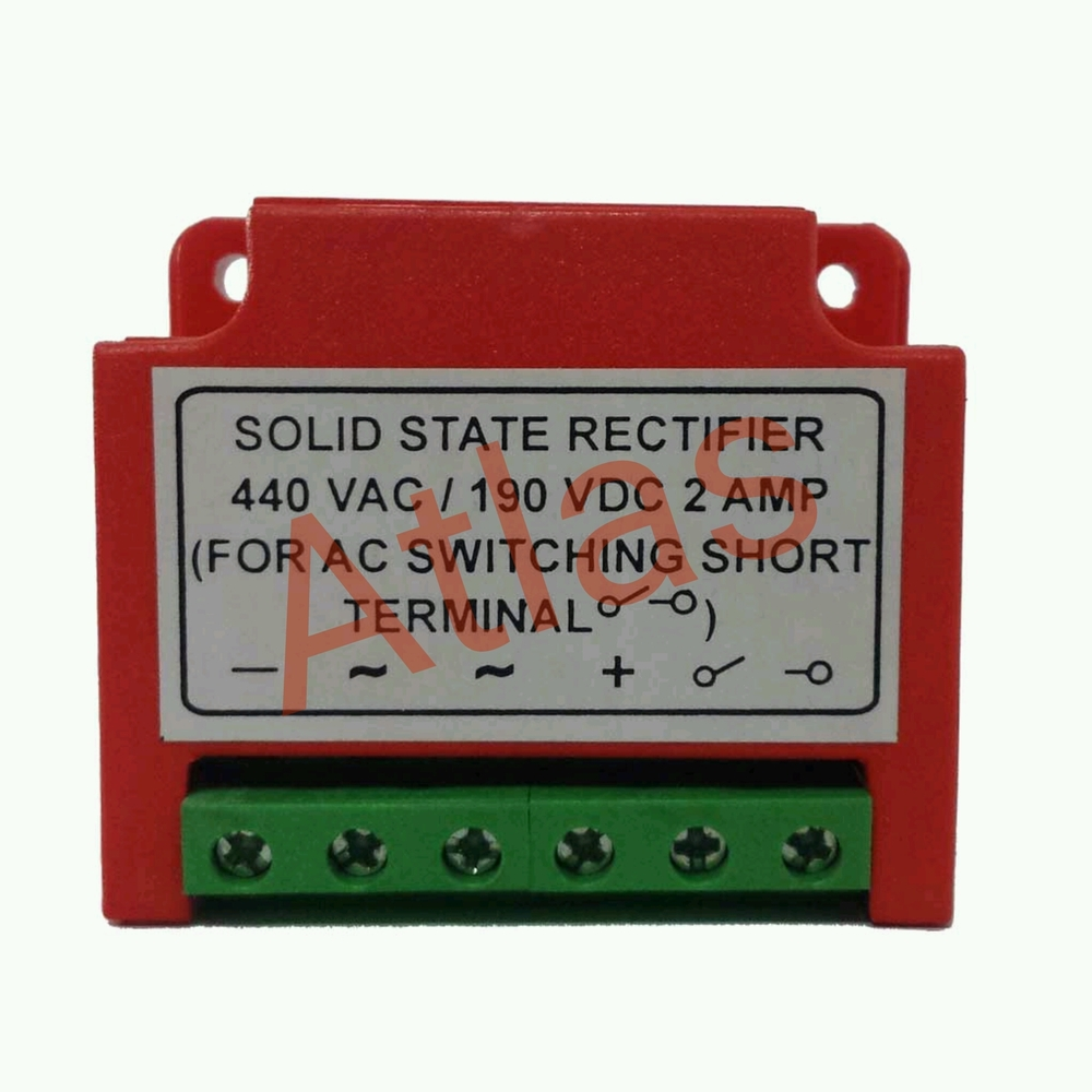 Solid State Rectifier In Vatva Phase